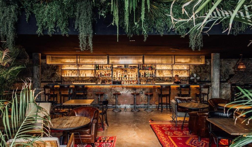 Les Plus Beaux Bars Et Restaurants à Déco Végétale De Paris